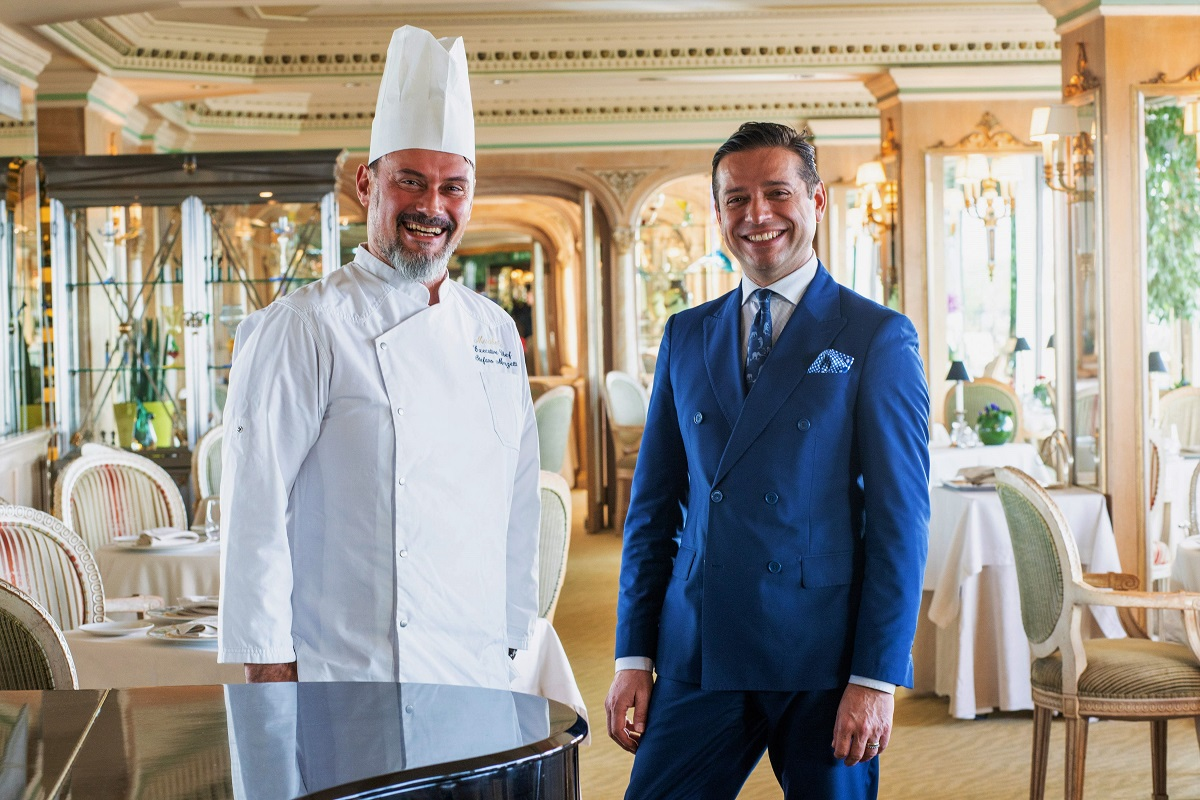 Mirabelle Restaurant Chef Stefano Marzetti e Luca Costanzi Food and Beverage Manager